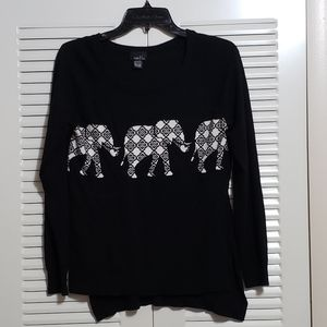 Rue21 high-low elephant sweater